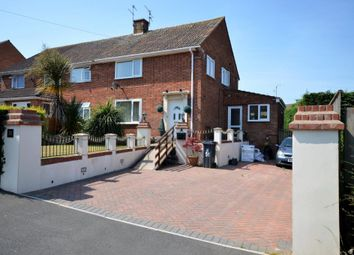 Thumbnail 3 bed semi-detached house for sale in Lovelace Crescent, Exmouth, Devon