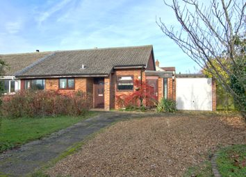 Thumbnail 2 bed semi-detached bungalow for sale in Millers Road, Toft, Cambridge