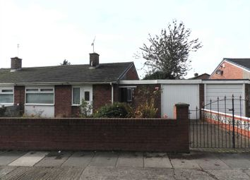 Thumbnail 2 bedroom semi-detached bungalow for sale in Hall Drive, Kirkby, Liverpool