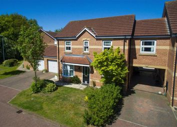 Thumbnail 4 bed link-detached house for sale in Acre Close, Market Rasen