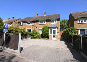 Thumbnail 3 bed semi-detached house for sale in Rayleigh Road, Hutton, Brentwood