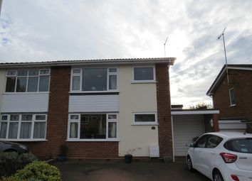 Thumbnail 3 bed semi-detached house for sale in Hanley Close, Halesowen