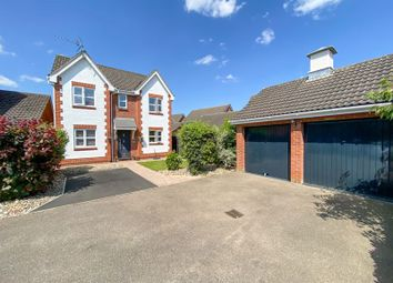Thumbnail 4 bed detached house for sale in Stirling Close, Drayton, Norwich