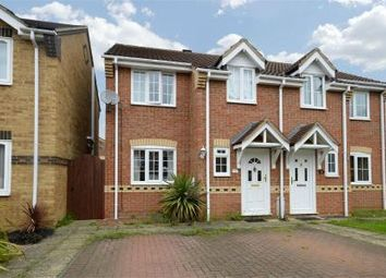 Thumbnail Semi-detached house for sale in Saddlers Way, Raunds, Northamptonshire