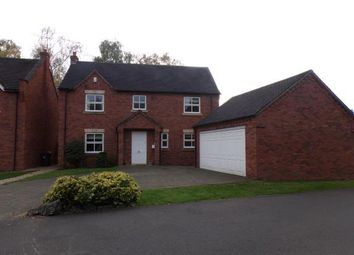 Thumbnail 4 bed detached house for sale in Little Bridge, Tutbury, Burton-On-Trent, Staffordshire