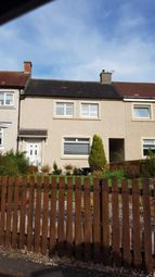 Thumbnail 3 bed terraced house for sale in Crossgates Avenue Cleland, Motherwell, Motherwell