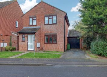 Thumbnail 3 bedroom detached house to rent in Penrwyn Court, Eynesbury, St. Neots