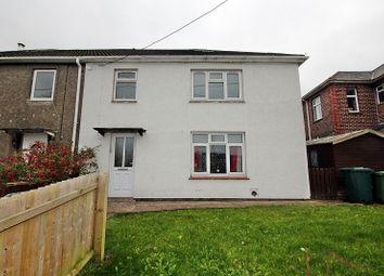 Thumbnail 3 bed semi-detached house for sale in Tynybryn Road, Tonyrefail, Porth, Rhondda, Cynon, Taff.