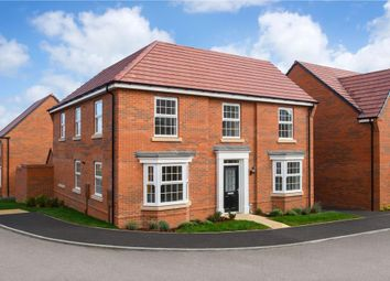 "Thumbnail 4 bed detached house for sale in ""Eden"" at Carters Lane, Kiln Farm, Milton Keynes"