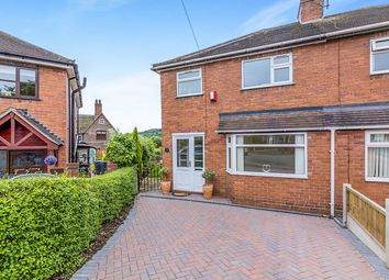 Thumbnail 3 bed semi-detached house for sale in Halfway Place, Newcastle-Under-Lyme