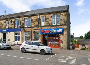 Thumbnail 2 bedroom flat for sale in Glasgow Road, Denny