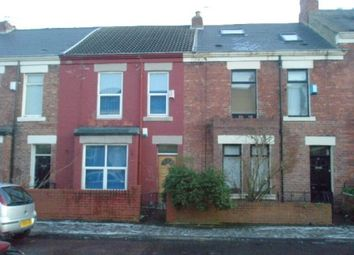 Thumbnail 4 bed terraced house to rent in Cardigan Terrace, Newcastle Upon Tyne