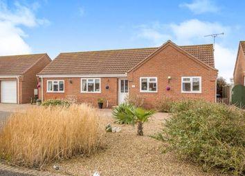 Thumbnail 3 bed bungalow for sale in Poplar Drive, Walcott, Norwich
