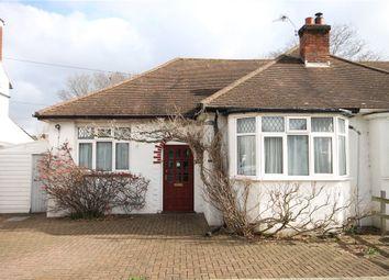 Thumbnail 2 bed semi-detached bungalow for sale in Claremont Avenue, Sunbury-On-Thames, Surrey