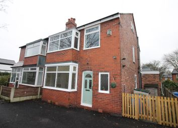 Thumbnail 3 bed semi-detached house for sale in Chassen Road, Urmston, Manchester