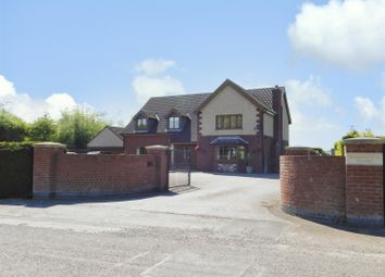 Thumbnail 4 bed detached house for sale in Burgh Road, Orby, Skegness
