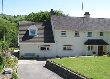 Thumbnail 4 bedroom semi-detached house for sale in Rock Street, Caio, Llanwrda, Carmarthenshire