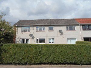 Thumbnail 2 bedroom flat to rent in Primrose Court, Rosyth, Dunfermline