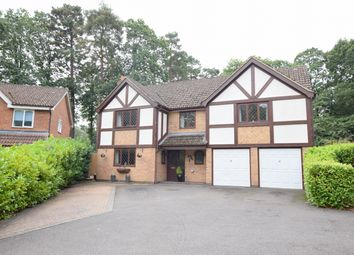 Wynne Gardens, Church Crookham, Fleet GU52. 5 bed detached house