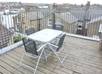 Thumbnail 3 bed flat to rent in Comyn Road, London