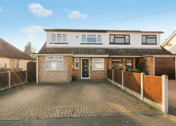 Thumbnail 4 bed semi-detached house for sale in Fanton Walk, Wickford, Essex