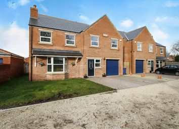 Thumbnail 5 bed detached house for sale in Hall Court, Thorne, Doncaster