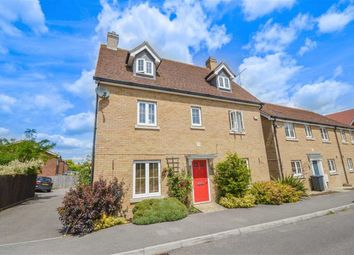 Thumbnail 5 bedroom detached house for sale in Sanville Gardens, Stanstead Abbotts, Hertfordshire