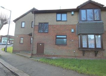 Thumbnail 1 bed flat to rent in Bishopscote Road, Luton
