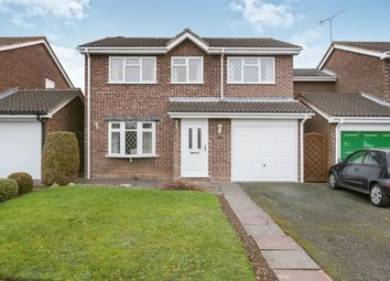 Thumbnail 4 bed detached house for sale in Harald Close, Perton, Wolverhampton, West Midlands