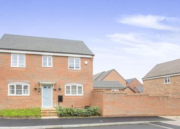 Thumbnail 3 bedroom detached house for sale in Monk Close, Market Harborough