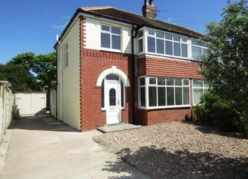 Thumbnail 3 bed semi-detached house to rent in Westmorland Avenue, Thornton Cleveleys