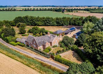 Thumbnail 5 bed detached house for sale in White Cross Lane, Tilney All Saints, King's Lynn, Norfolk
