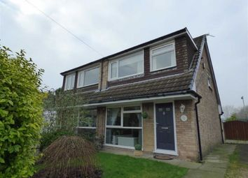Thumbnail 3 bed semi-detached house to rent in Bradfield Close, Reddish, Stockport