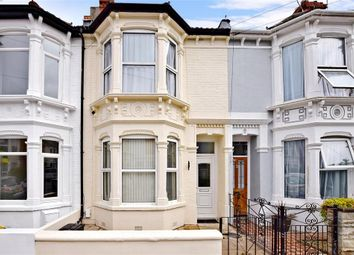 Thumbnail 3 bed terraced house for sale in Canterbury Road, Southsea, Hampshire