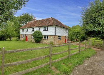 Thumbnail 5 bed equestrian property for sale in Gibbons Brook, Sellindge, Ashford