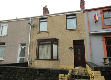 Thumbnail 3 bed terraced house for sale in Neath Road, Plasmarl, Swansea, City And County Of Swansea.