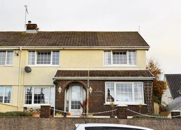 Thumbnail 4 bed semi-detached house for sale in Penlan, The Ridgeway, Saundersfoot, Pembrokeshire