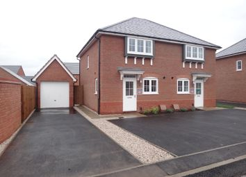 Thumbnail 3 bed semi-detached house to rent in Goldworkings Crescent, Glenfield, Leicester