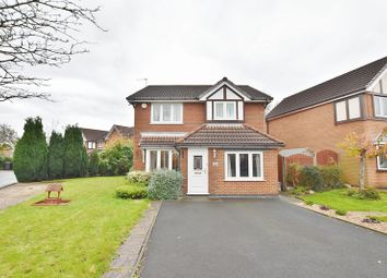 Thumbnail 4 bedroom detached house for sale in Waterslea, Eccles, Manchester