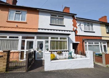 Thumbnail 3 bed terraced house for sale in Belmont Road, Bearwood, Smethwick