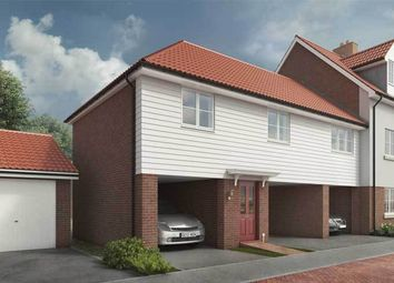 "Thumbnail 2 bed duplex for sale in ""The Layham"" at Wagtail Drive, Stowmarket"