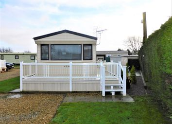 Thumbnail 2 bed mobile/park home for sale in Heron Cottage Park, Frostley Gate, Holbeach