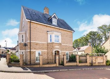 Thumbnail 4 bed end terrace house for sale in Livingstone Way, Fairfield, Hitchin