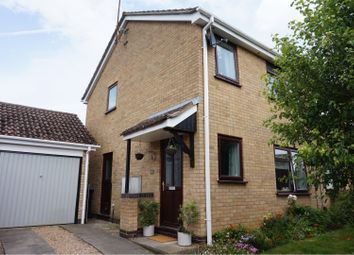 Thumbnail 3 bed semi-detached house for sale in Russet Close, Market Harborough