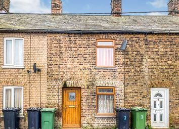 Thumbnail 1 bed terraced house for sale in Main Road, Three Holes, Wisbech