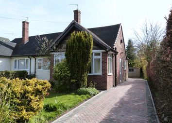 Thumbnail 2 bed semi-detached bungalow for sale in Southlands Road, Congleton, Cheshire