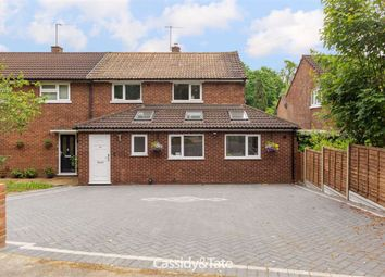 Thumbnail 3 bed semi-detached house for sale in Batchwood Drive, St Albans, Hertfordshire