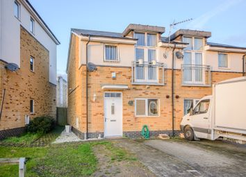 Thumbnail 3 bed semi-detached house for sale in Brazier Crescent, Northolt
