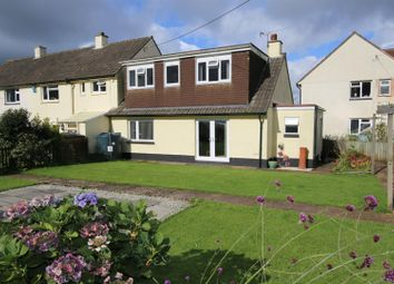 Thumbnail 3 bed semi-detached bungalow for sale in Moor View, Pennymoor, Tiverton