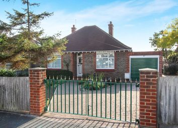 Thumbnail 2 bedroom detached bungalow for sale in Cross Road, Southwick, Brighton